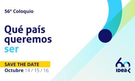 """El 56° Coloquio IDEA invita a reflexionar sobre """"Qué país queremos ser"""""""