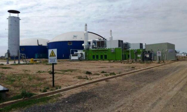 Invierten US$12 millones en una planta de biogás