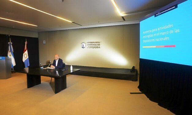 La provincia anunció asistencias para actividades restringidas por la pandemia