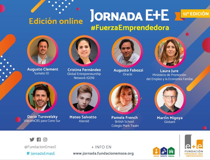 Se conocieron los speakers que serán parte de la 12° edición de la Jornada e+e