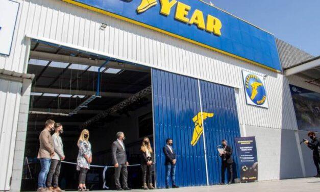 La Unión y Goodyear Argentina abrieron una planta de reconstrucción de neumáticos
