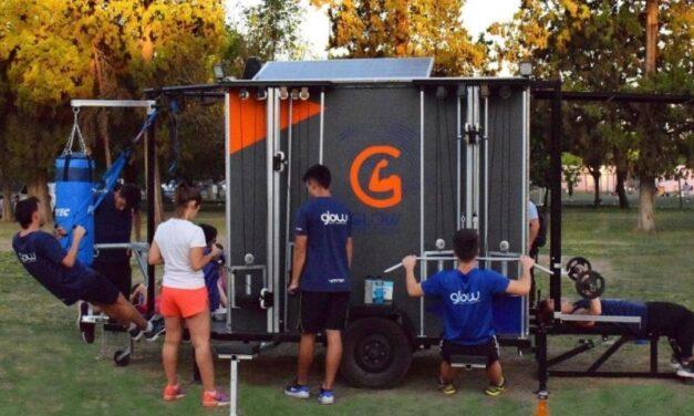 Glow Gym Truck, un emprendimiento que apuesta al entrenamiento al aire libre