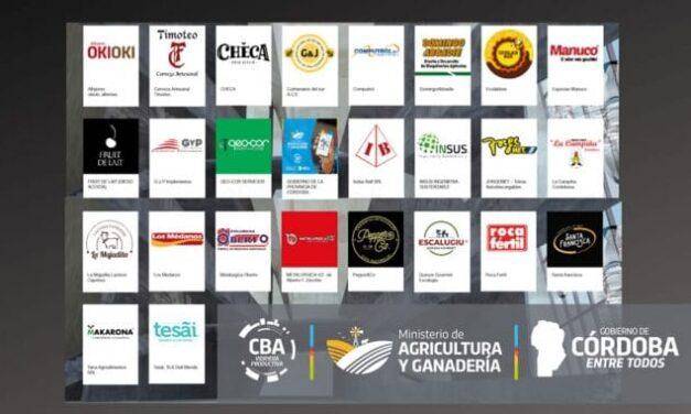 El gobierno de Córdoba, junto a 25 pymes, presentes en Agroactiva Virtual