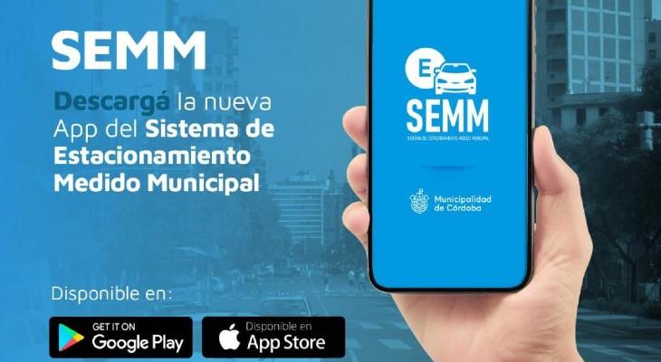 La nueva app de estacionamiento medido municipal ya está disponible