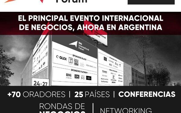 BNI International Forum: encuentro para generar oportunidades a emprendedores