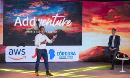 Calvo participó de la presentación de Addventure Club & Academy
