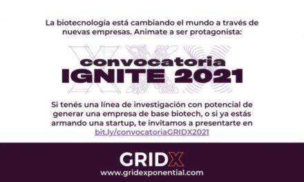 Convocatoria de Gridx – Programa Ignite 2021