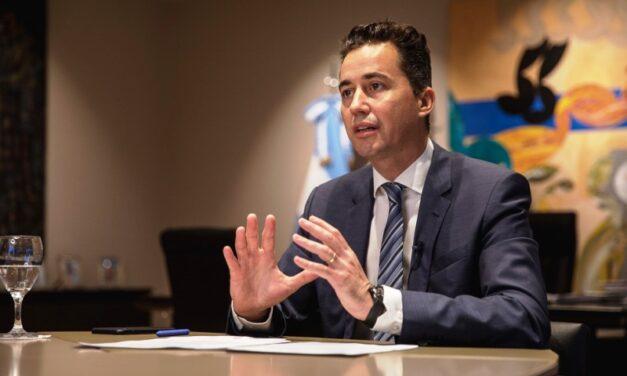 Manuel Calvo presentó la oferta exportadora de Córdoba para España