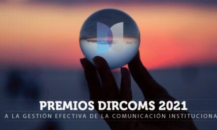 Se dieron a conocer los finalistas de la 1a. edición de los Premios DIRCOMS
