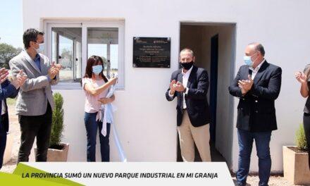 La provincia sumó un nuevo parque industrial en Mi Granja