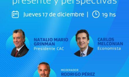 """Conferencia Economía argentina """"Presente y perspectivas"""""""