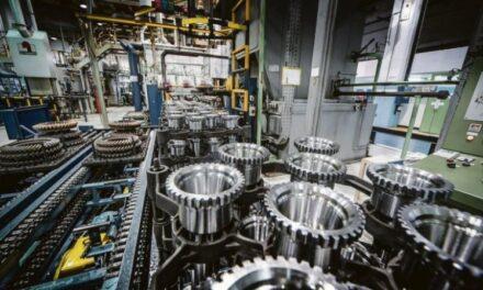 Mejoró la utilización de la capacidad instalada en la Industria