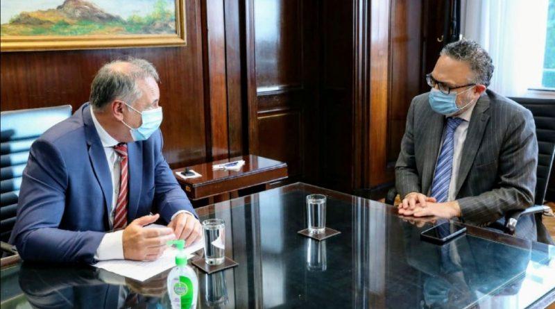 Accastello mantuvo una agenda de trabajo en el Ministerio de Desarrollo Productivo