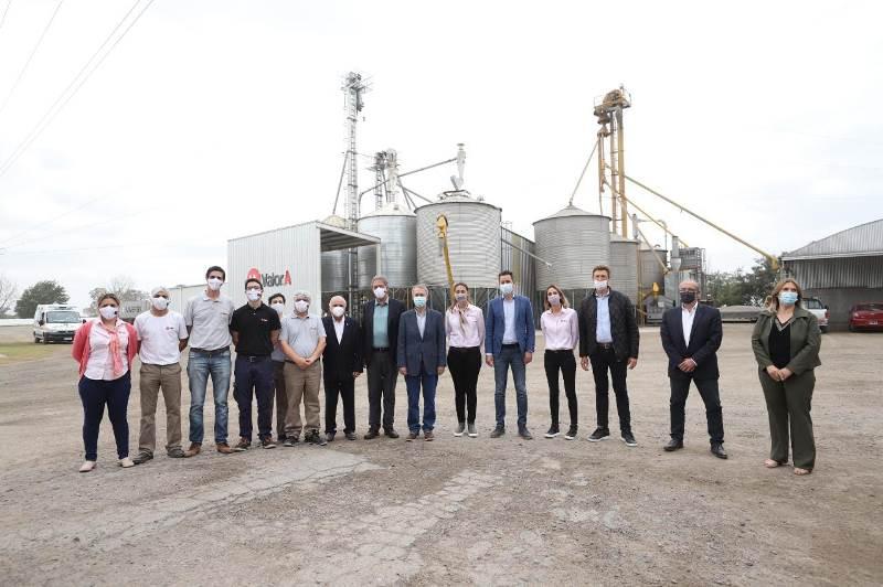 La Provincia inauguró la conexión a la red de gas de la empresa Valorasoy S.A
